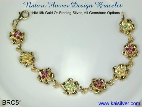 bracelet 14k ou 18k d'or