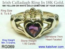 claddagh silver rings