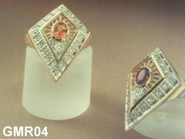 Big Aquamarine Gold Ring Made To Order.