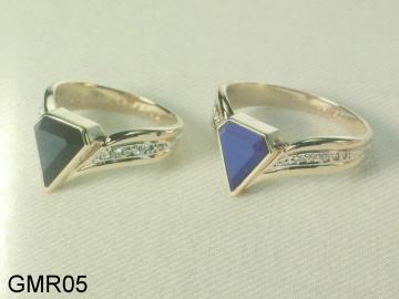 Onyx Ring, Blue Lapis Rings Custom Made.