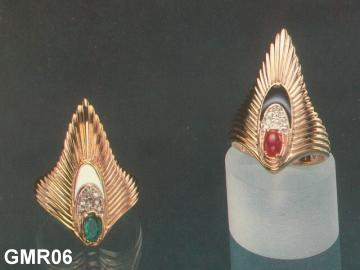 Ancient Style Rings, Gold And Silver