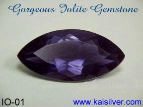 Iolite gem stone