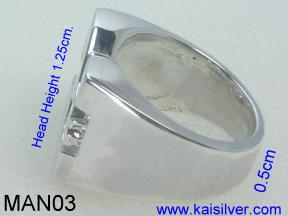 Man Ring Made To Order