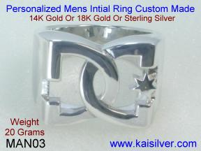 Male Jewelry Custom Rings