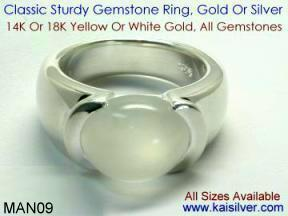 Gents Silver Rings