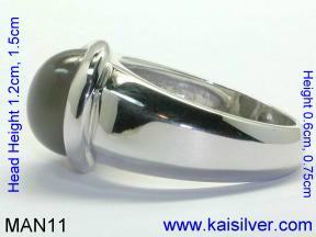 Mans Jewelry Gemstone Rings Made To Order