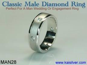 white gold wedding diamond rings