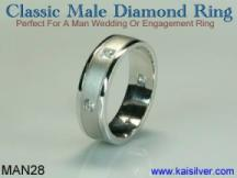 custom diamond rings, high end