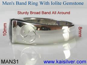 gold gem stone rings for men
