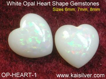 Heart Shape Opal For Opal Cladagh Ring