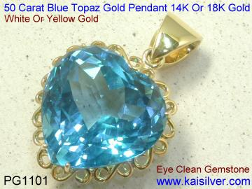 Topaz Gemstone Pendant