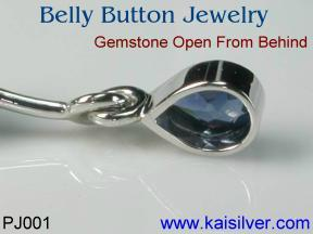 custom gold belly button jewelry