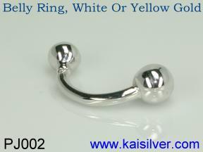 custom belly ring