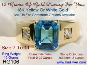 Jewelry For Males, Custom Order Male Ring