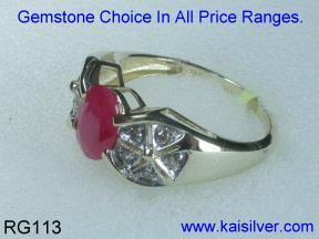 Gold Ring Side Image