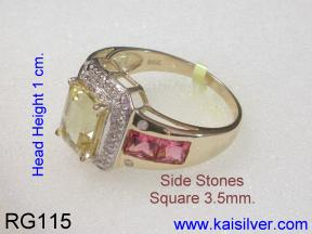 Gold Ring Image From Side