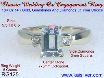 Custom Made Jewelry, Wedding Ring