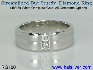 diamond gold rings, yellow gold diamond rings or white gold diamond rings. custom diamond gold rings with your choice of design.