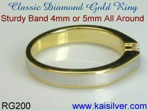custom wedding rings diamond