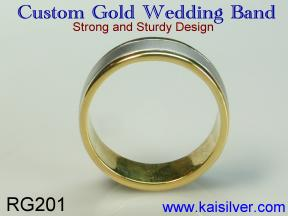 wedding band white gold or yellow gold