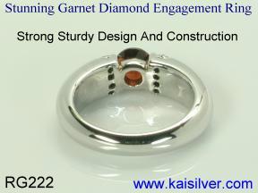 rings engagement custom made