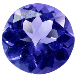 Tanzanite Gemstones Round Shape